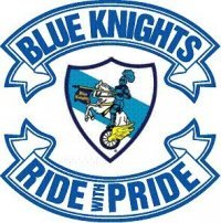 Blue Knights Back Rockers